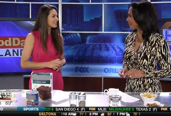 HOP Faculty Featured on Fox 35 Orlando on Healthy Alternatives to Favorite Foods